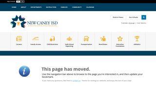 Skyward- Student Grade Access / Home Access - New Caney ISD