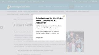 Skyward Family Access Support - Lake Washington School District
