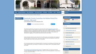 Seminole County Launches an Online Portal for Parents: Skyward ...