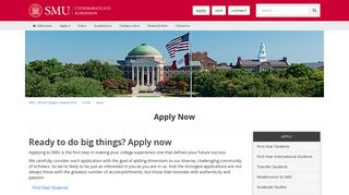 Apply Now - SMU