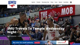 SMU Athletics - Official Athletics Website