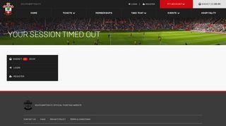 Login - Southampton FC