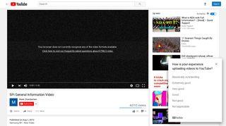 SPi General Information Video - YouTube
