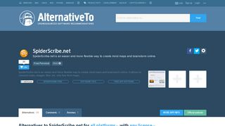SpiderScribe.net Alternatives and Similar Websites and Apps ...