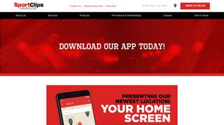 Sport Clips Haircuts   Online Check In   App