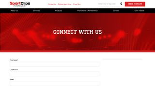 Get Up To Date Offers and Promotions   Sport Clips