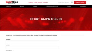 E-Club Promotions and Offers   Sport Clips