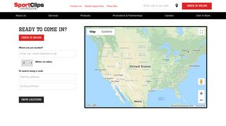 Map & Directions for Haircuts Near Me   Sport Clips 2018