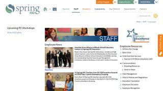 Staff / Homepage - Spring ISD