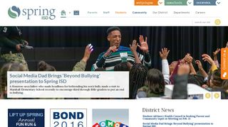 Spring Independent School District / Spring ISD Home