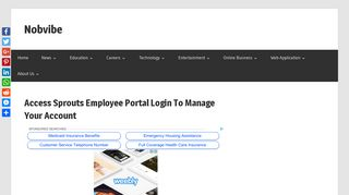 Access Sprouts Employee Portal Login To Manage Your Account