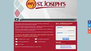 My St. Joseph's - St. Joseph's Hospital