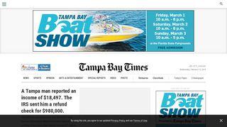 Tampa Bay, Florida news | Tampa Bay Times/St. Pete Times