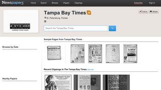 Tampa Bay Times on Newspapers.com