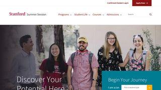 Stanford Summer Session - Stanford University