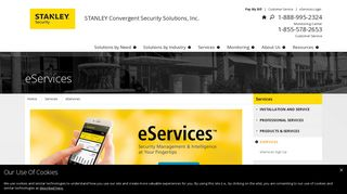 eServices: Security Management and Intelligence - STANLEY Security