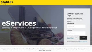 eServices Login - STANLEY Security