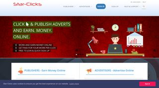 Star-Clicks.com Earn Money Online, Make Money Get Paid with ...