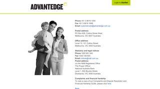 Contact Us - Advantedge Financial Services