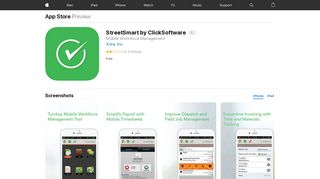 StreetSmart by ClickSoftware on the App Store - iTunes - Apple