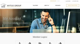 Account Login | Avitus Group
