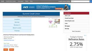 Summit Credit Union - Madison, WI