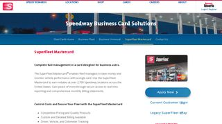 SuperFleet MasterCard - Speedway