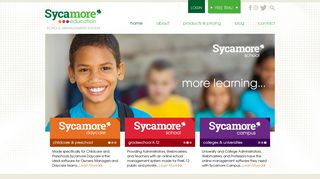 Sycamore Education | School Management System