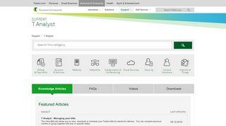 Enterprise Help & Support - T Analyst - Telstra Business & Enterprise ...