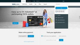 Tata Card: Home