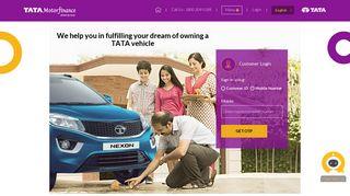 Customer Login - Tata Motors Finance