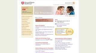 Harvard Pilgrim Health Care - Providers