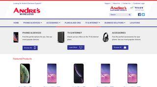 Andre's Wireless - TELUS Smartphones, TV, Internet, & Business ...