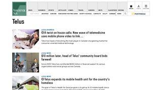 Telus News, Articles & Images   Vancouver Sun