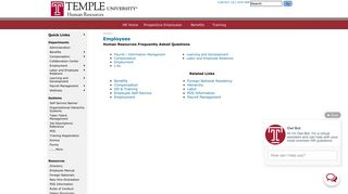 Employees - Temple University