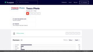 Tesco Photo Reviews   Read Customer Service Reviews of www ...
