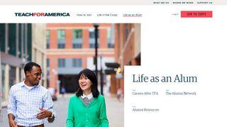 Life as an Alum   Teach For America