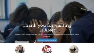 Thank You! - Teach for America