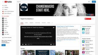 Teach For America - YouTube