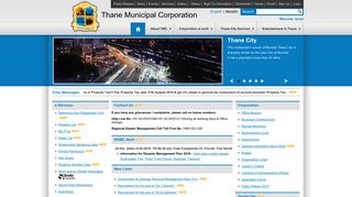 Welcome to official website of Thane Municipal Corporation