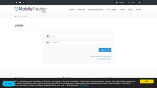 Login | Mobile Tracker Free