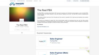 The Real PBX - Job vacancy in Nepal | merojob