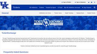 TicketExchange - UK Athletics Ticket Office