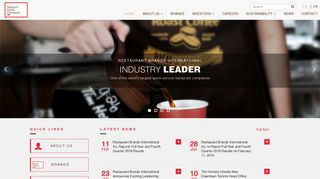 Home   Restaurant Brands International ™