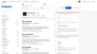 TJX Canada Jobs (with Salaries)   Indeed.com