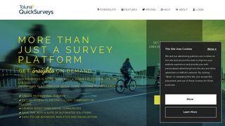 Toluna QuickSurveys   Create Free Online Surveys & Questionnaires