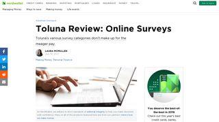 Toluna Review: Online Surveys - NerdWallet