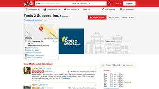 Tools 2 Succeed, Inc. - Professional Services - 2629 Townsgate Rd ...