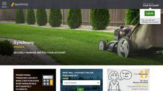 Lawn & Garden Financing | Synchrony