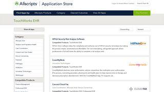 TouchWorks | allscriptsstore.cloud.prod.iapps.com